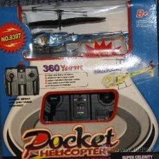 Radio Control: MINI HELICOPTERO RADIO CONTROL. Lote 26314425