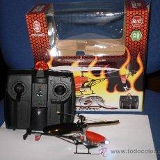 Radio Control: MICRO - HELICOPTERO RADIO CONTROL PARA INTERIOR Y EXTERIOR .. Lote 27523134