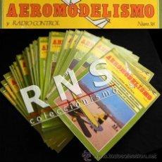 Radio Control: AEROMODELISMO 43 FASCÍCULOS ENCICLOPEDIA PRÁCTICA HOBBY PRESS RADIOCONTROL AVIÓN FASCÍCULO LIBRO. Lote 76846805
