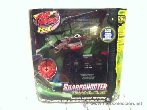 Radio Control: HELICOPTERO CONTROL REMOTO AIR HOGS SHARPSHOOTER MOD. BLACK/RED - NUEVO - Foto 1 - 34465134