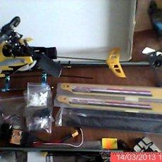 Radio Control: HELICÓPTERO T-REX 450 XL CON RECAMBIOS. Lote 36290303