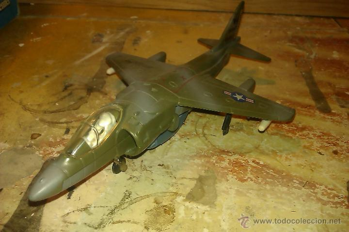 ERTL-- AVION HARRIER DE METAL,1:72 (Juguetes - Modelismo y Radiocontrol - Radiocontrol - Aviones y Helicópteros)