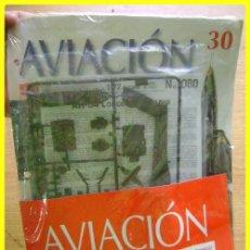 Radio Control: FASCÍCULO Y PARTES DEL NÚMERO 30 DE AVIACIÓN, MCDD AH-64 LONGBOW APACHE. 1ª ENTREGA. Lote 44614605