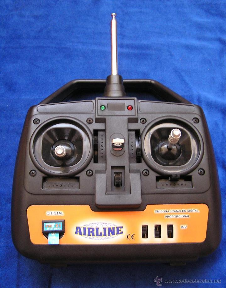 EMISORA 3 CANALES PARA AEROMODELO / AIRLINE (Juguetes - Modelismo y Radiocontrol - Radiocontrol - Aviones y Helicópteros)
