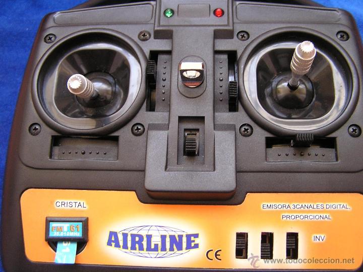 Radio Control: Emisora 3 canales para aeromodelo / Airline - Foto 2 - 45284540