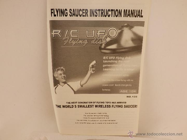 Radio Control: UFO platillo volante - Foto 4 - 91370072