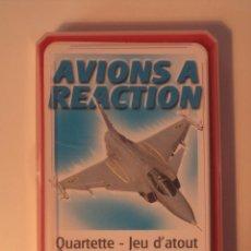 Radio Control: AVIONS A REACTION. QUARTETTE – JEU D´ATOUT. CARTA MUNDI. 32 + 2 CARTES.. Lote 49095074