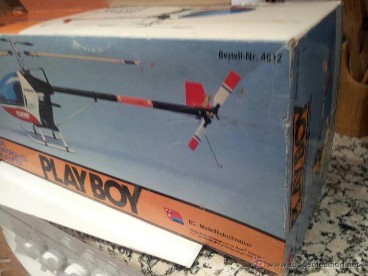 Radio Control: helicoptero play boy radio control motor gasolina repuestos y piezas ver fotos - Foto 5 - 51110418