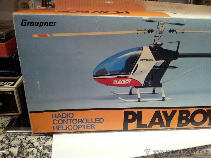Radio Control: helicoptero play boy radio control motor gasolina repuestos y piezas ver fotos - Foto 6 - 51110418