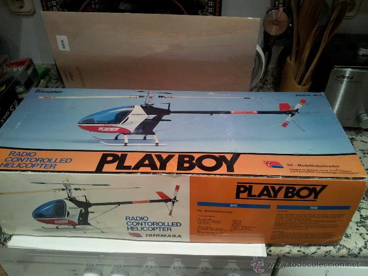 Radio Control: helicoptero play boy radio control motor gasolina repuestos y piezas ver fotos - Foto 7 - 51110418