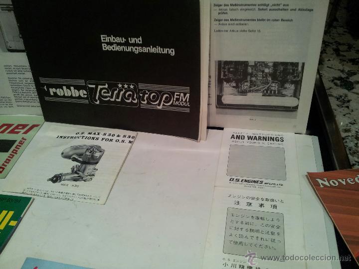 Radio Control: helicoptero play boy radio control motor gasolina repuestos y piezas ver fotos - Foto 13 - 51110418