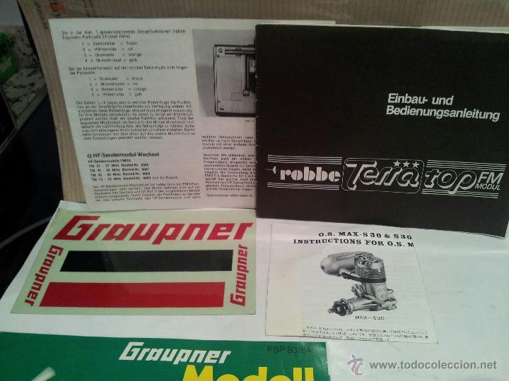 Radio Control: helicoptero play boy radio control motor gasolina repuestos y piezas ver fotos - Foto 14 - 51110418
