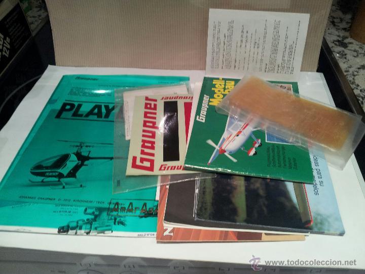 Radio Control: helicoptero play boy radio control motor gasolina repuestos y piezas ver fotos - Foto 17 - 51110418