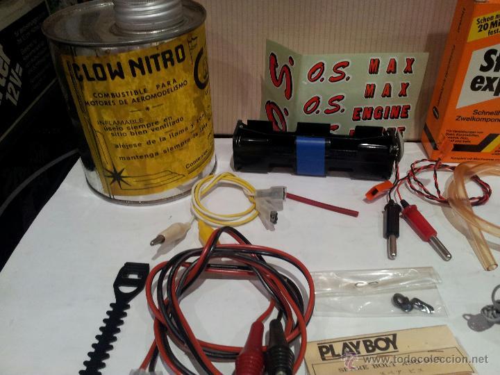 Radio Control: helicoptero play boy radio control motor gasolina repuestos y piezas ver fotos - Foto 37 - 51110418