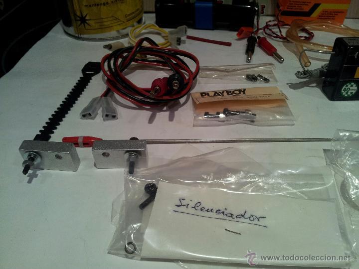 Radio Control: helicoptero play boy radio control motor gasolina repuestos y piezas ver fotos - Foto 38 - 51110418