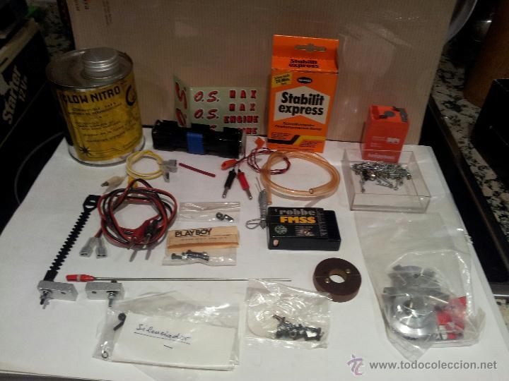 Radio Control: helicoptero play boy radio control motor gasolina repuestos y piezas ver fotos - Foto 42 - 51110418