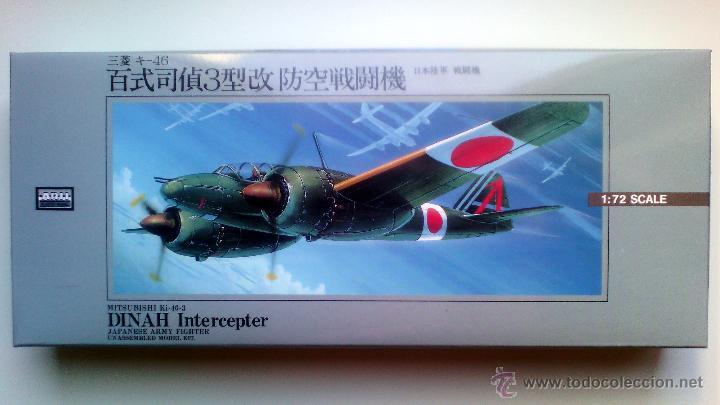 """MITSUBISHI KI-46-III """"DINAH"""" (INTERCEPTER) 1/72 ARII (Juguetes - Modelismo y Radiocontrol - Radiocontrol - Aviones y Helicópteros)"""