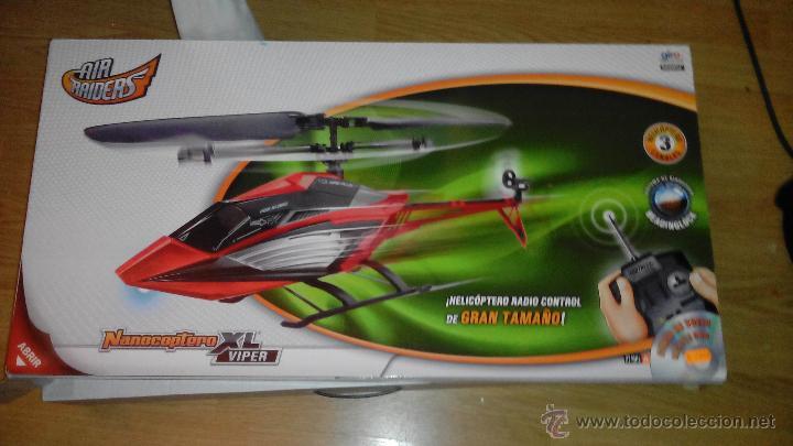 HELICOPTERO - NANOCOPTERO XL VIPER - AIR RAIDERS (INCOMPLETO) (Juguetes - Modelismo y Radiocontrol - Radiocontrol - Aviones y Helicópteros)