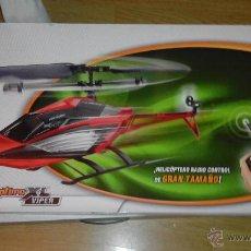 Radio Control: HELICOPTERO - NANOCOPTERO XL VIPER - AIR RAIDERS (INCOMPLETO). Lote 54678760