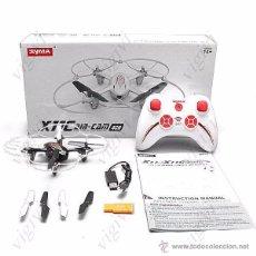 Radio Control: SYMA X11C 4CH 360° FLIPS 2.4GHZ RC QUADCOPTER DRONE W 2MP FPV CAMERA-DRON CON CAMARA. Lote 54707403
