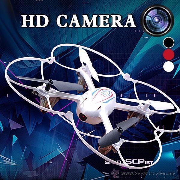 Radio Control: Syma X11C 4CH 360° Flips 2.4GHz RC Quadcopter Drone w 2MP FPV Camera-DRON CON CAMARA - Foto 2 - 54707403