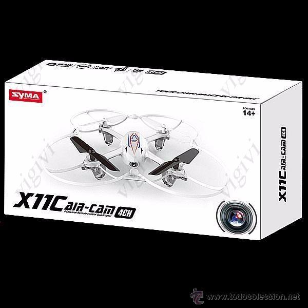Radio Control: Syma X11C 4CH 360° Flips 2.4GHz RC Quadcopter Drone w 2MP FPV Camera-DRON CON CAMARA - Foto 11 - 54707403