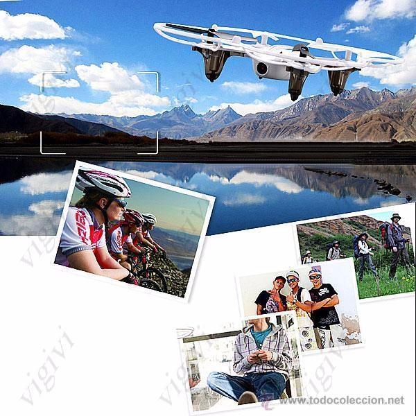Radio Control: Syma X11C 4CH 360° Flips 2.4GHz RC Quadcopter Drone w 2MP FPV Camera-DRON CON CAMARA - Foto 12 - 54707403