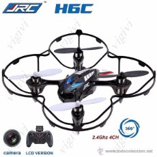 Radio Control: JJRC H6C HEADLESS MODE 4CH 2.4GHZ RC QUADCOPTER DRONES 2MP CAMERA-DRON CON CAMARA-NUEVO. Lote 54714261