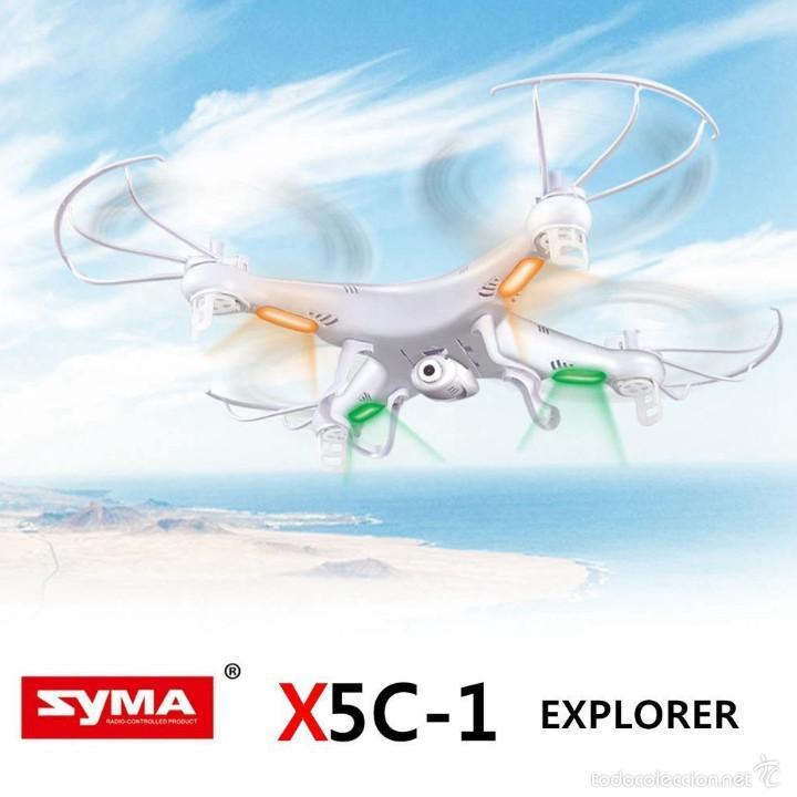 Radio Control: Syma X5C Exlorers 2.4G - Dron Quadcopter de 6 ejes con control remoto y cámara HD - Foto 3 - 56035492