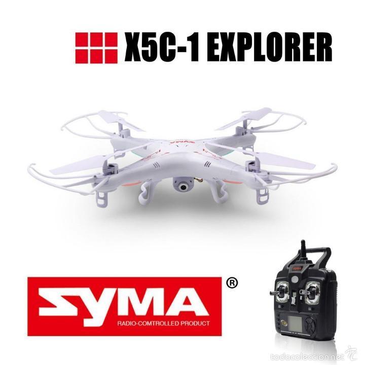 Radio Control: Syma X5C Exlorers 2.4G - Dron Quadcopter de 6 ejes con control remoto y cámara HD - Foto 5 - 56035492