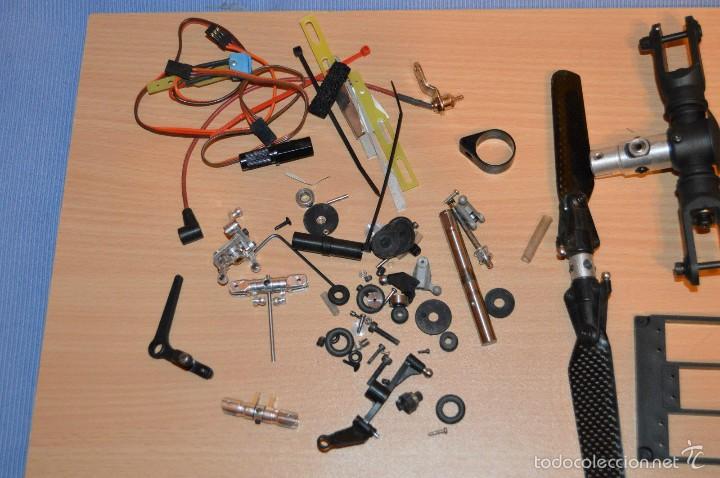 Radio Control: LOTAZO PIEZAS DESGUACE DE HELICOPTEROS - VARIOS MODELOS - KYOSHO Y OTROS - Foto 8 - 209519787