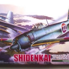 Radio Control: KAWANISHI N1K2-J SHIDEN KAI 'GEORGE' (C/COHETES/W/ROCKETS) 1/72 AOSHIMA. Lote 57220946