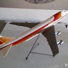 Radio Control: ANTIGUO AVIÓN DE AGENCIA DE VIAJES BOEING 747 IBERIA ESCALA 1/100. Lote 189105390