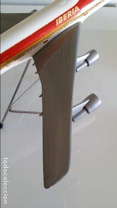 Radio Control: ANTIGUO AVIÓN DE AGENCIA DE VIAJES BOEING 747 IBERIA ESCALA 1/100 - Foto 4 - 189105390