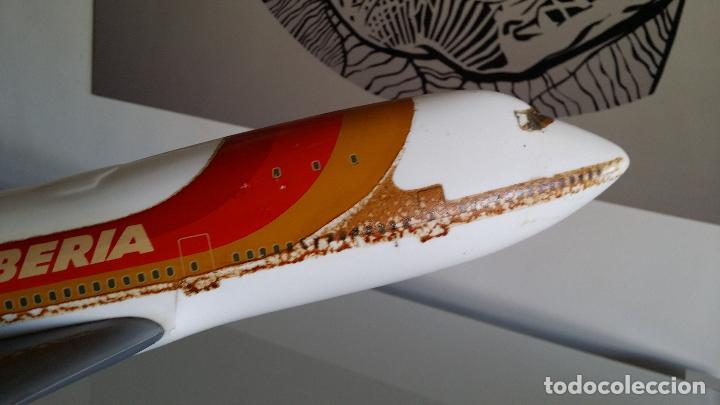 Radio Control: ANTIGUO AVIÓN DE AGENCIA DE VIAJES BOEING 747 IBERIA ESCALA 1/100 - Foto 6 - 189105390