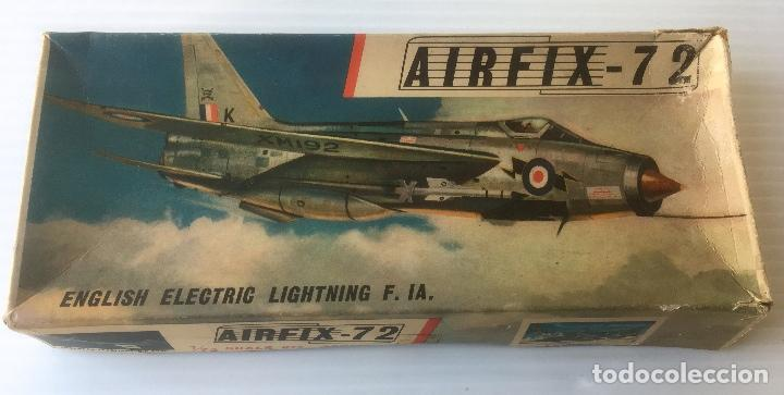 ANTÍGUO AVIÓN AIRFIX - 72. ENGLISH ELECTRIC LIGHTNING F. IA. ESCALA 1/72. SERIES 2. (Juguetes - Modelismo y Radiocontrol - Radiocontrol - Aviones y Helicópteros)