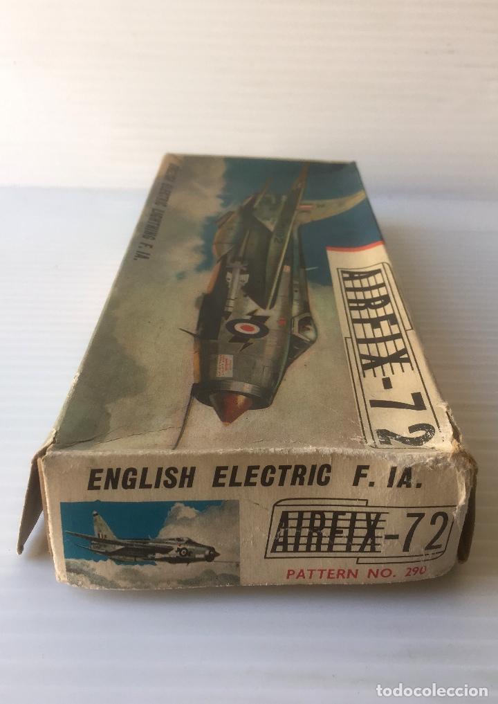 Radio Control: ANTÍGUO AVIÓN AIRFIX - 72. ENGLISH ELECTRIC LIGHTNING F. IA. ESCALA 1/72. SERIES 2. - Foto 3 - 80287541