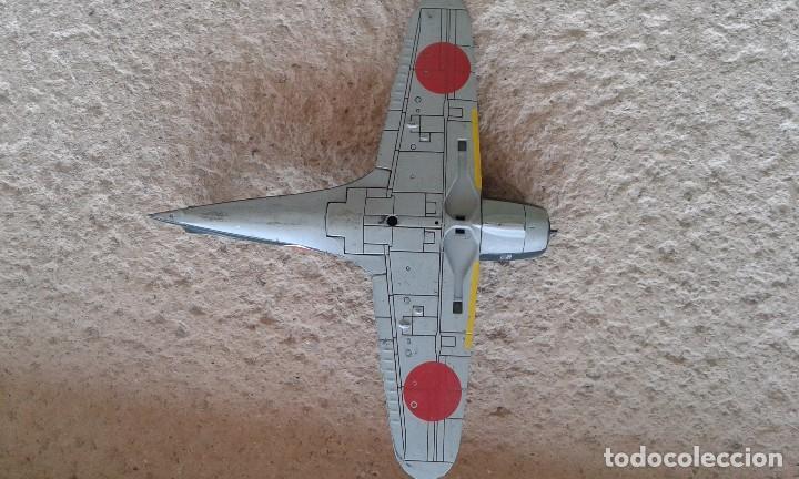 Radio Control: Caza-interceptor Mitsubishi J2M3 Raiden 1942 de hierro - Foto 4 - 87136200