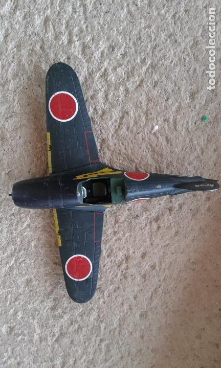 Radio Control: Caza-interceptor Mitsubishi J2M3 Raiden 1942 de hierro - Foto 3 - 87136200