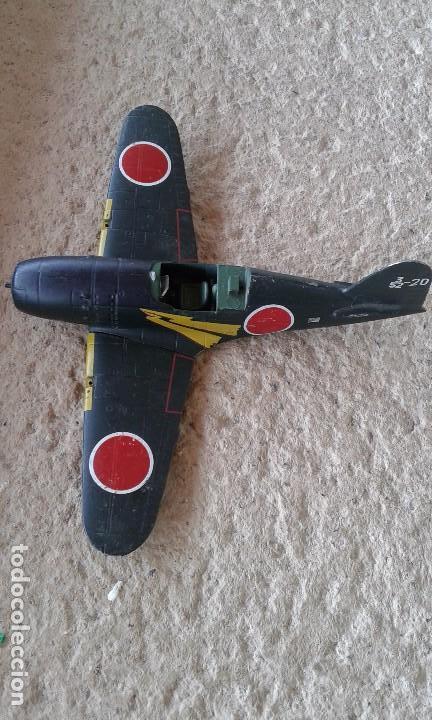 CAZA-INTERCEPTOR MITSUBISHI J2M3 RAIDEN 1942 DE HIERRO (Juguetes - Modelismo y Radiocontrol - Radiocontrol - Aviones y Helicópteros)