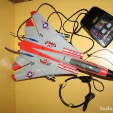 Radio Control: AVION F14 TOMCAT USA NIMITZ FIGHTERTOWN USA - MADE IN HONG KONG - AÑO 90. Lote 88780712