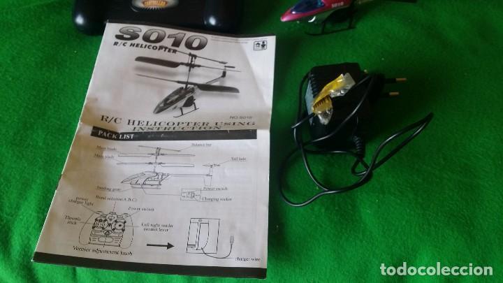 Radio Control: Mini Helicoptero RC Syma S010 3 Canales - Foto 5 - 91937940