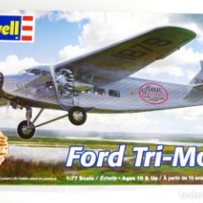 Radio Control: FORD 4-AT TRIMOTOR (GUERRA CIVIL) 1/77 (1/72) REVELL. Lote 95495571