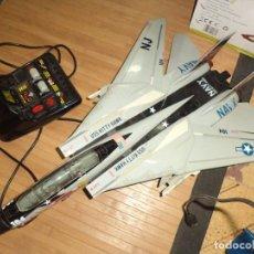 Radio Control: AVIÓN CAZABOMBARDERO F 14A TOMCAT US NAVY.TELEDIRIGIDO.NEW BRIGHT 1990.GRAN ESCALA.. Lote 95936055