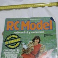 Radio Control: RC MODEL REVISTA Nº 2 DE AEROMODELISMO DEL AÑO 1981. Lote 95968667