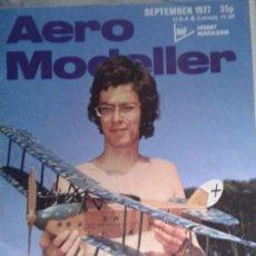 Radio Control: REVISTA DE AEROMODELISMO AERO MODELLER, SEPTIEMBRE 1977, EN INGLES. Lote 98554815