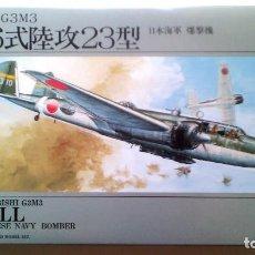 "Radio Control: MITSUBISHI G3M3 (OR G3M2 MODEL 22) ""NELL"" 1/72 ARII. Lote 98652723"