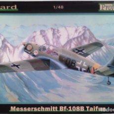 Radio Control: MESSERSCHMITT BF 108B TAIFUN (GUERRA CIVIL/SPANISH CIVIL WAR) 1/48 EDUARD (PROFIPACK). Lote 100302563