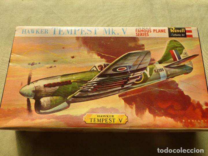 REVELL H-260. 1:72 AVION HAWKER TEMPEST. AÑOS 70 - CAJA VACIA CON INSTRUCCIONES (Juguetes - Modelismo y Radiocontrol - Radiocontrol - Aviones y Helicópteros)