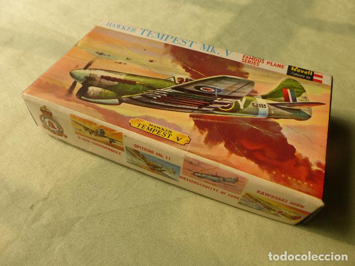 Radio Control: REVELL H-260. 1:72 Avion Hawker Tempest. Años 70 - CAJA VACIA CON INSTRUCCIONES - Foto 5 - 100444203